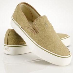 Polo Ralph Lauren Mytton Slip-On Canvas Shoes